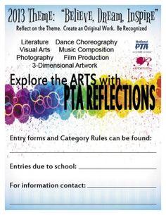 Pta reflections award certificate google search reflections reflections utahpta yadclub Gallery