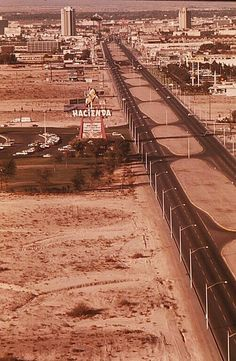 Las Vegas Strip 1972, Hacienda is the current day location of the Mandalay Bay.