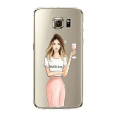 Sexy Modern Lady Girl Phone Case For Samsung Galaxy S