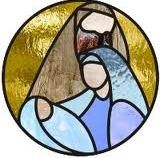 Nativity Stained Glass Coloring Page Stained Glass Quilt, Stained Glass Ornaments, Stained Glass Christmas, Stained Glass Suncatchers, Stained Glass Designs, Stained Glass Panels, Stained Glass Projects, Stained Glass Patterns, Glass Christmas Ornaments