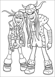 Dragons Rescue Riders Coloring Page from Dreamworks