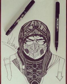 Desenho finalizado SCORPION MKX