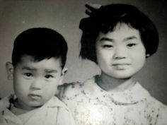 Old pictures of a Chinese family we met in Beijing. We met the girl. She was an old lady when we met her.