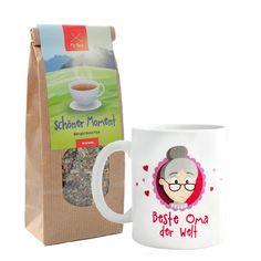 Geschenk Oma, Oma Tasse, Tasse und Tee, Beste Oma der Welt