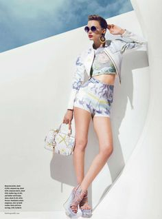 '50s Beachwear Editorials : How to Spend It Swell Belle