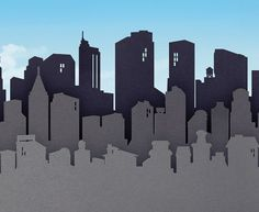 atmospheric perspective cityscapes | Overlapping & Atmospheric Perspective | elementary art - landscapes ...