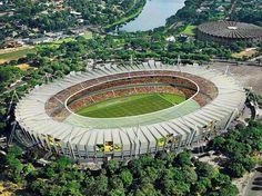 COPA DO MUNDO BRASIL 2014:  2. Estádio do Mineirão em Belo Horizonte Número de Espectadores: 69,000