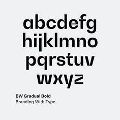 BW Gradual by Alberto Romanos @bwtype . . . . . . . . . . #bwtype #gradual #type #typography #font #design #webfont #fontoftheday #fontlove #typeface #fontcandy #graphicdesigner #typetopia #gooddesign #branding #lettering #typedesign #fontsmatter #typematters #letter #typographic #dailytype #goodtype #logo #newfonts #serif #branding #modern @typesmash #typesmash