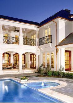 Luxury Homes from Houzz Luxury Mansions+Estates #Luxurydotcom