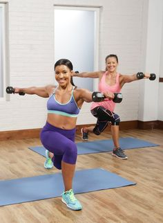 Get Fit Fast With This Cardio Sculpt Workout - Like this work out. Definitely gets me sweaty, wore out. Like the interval between cardio and strength moves. Not hungry after.
