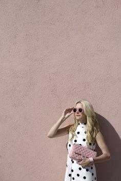 Atlantic Pacific / pink // polka dot // #Fashion, #FashionBlog, #FashionBlogger, #Ootd, #OutfitOfTheDay, #Style