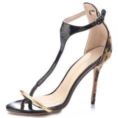 Shoespie Thong Heel Covering Stiletto Heel Sandals