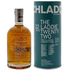 Bruichladdich Laddie Twenty Two 46.0% Single Malt Scotch Whiskey, A whisky worth while