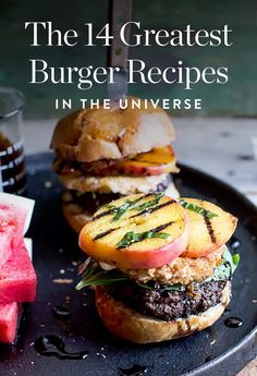 Bookmark now, eat all summer long. Here, our list of the 14 greatest burger recipes.