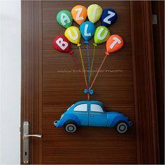 Aziz bulut bebek kapı süsü vosvos - Renkli Hayallerim
