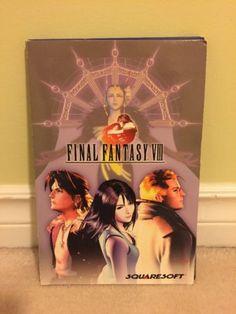 Final Fantasy VIII (PC, Personal Computer, 1999) Complete CIB, Vintage