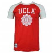 UCLA Wiggins Mens T-Shirt in Poppy Red. For exclusive designer fashion at affordable prices visit www.hypedirect.com   #bensherman #designer #fashion #apparel #menswear #mensstyle #style #UCLA #university #sportswear #giogoi #hunter #duck #jack #discount