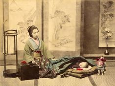 Samurais and courtesans: Japan caught in colour back in 1865 – in pictures