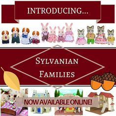 Introducing the latest arrivals to our store, the Sylvanian families! This family favourite has finally landed at Little Pumpkin - just in time for Christmas! View the whole Sylvanian range at www.Littlepumpkin.co.uk