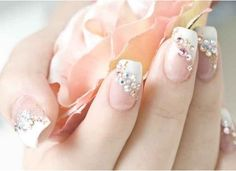 Nails - classic french manicure with a twist. Nails - classic french manicure with a twist. Nails - classic french manicure with a twist. French Nails, French Manicure With A Twist, French Nail Designs, Nail Designs Spring, Nail Art Designs, Fingernail Designs, Cute Nails, Pretty Nails, Gorgeous Nails