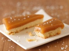 Salted Caramel Bars - SugarHero