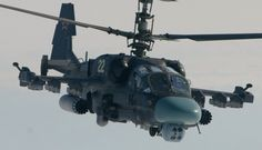 """The Russian Navy has taken delivery of it's first Kamov Ka-52K """"Katran"""" (NATO """"Alligator""""). First order for the Russian navy is for 32 of the Ka-50 """"Hokum"""" development. The """"Katran"""" or K model modified for naval use, and in particular for the new, presently embargoed French built Mistral class amphibious warfare/helicopter carriers, for the Pacific fleet."""