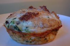This Egg White Veggie Frittata Muffin is from Rhodeygirltests.com.  Haven't tried it yet but soon...