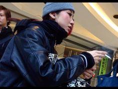 Charming Japanese girl smoking 109