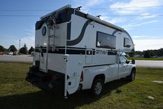 Truck campers are the ultimate Go Anywhere, Camp Anywhere, Tow Anything RV. Forget motorhomes and trailers. Fun, freedom, and adventure await! Truck Bed Camping, Utah Camping, Family Camping, Camping Ideas, Slide In Truck Campers, Pickup Camper, Camper Van, Luxury Camping, Camping Activities
