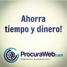 Nosotros ubicamos rápidamente los repuestos que necesitas y al mejor precio posible. En #ProcuraWeb hacemos el trabajo tú tomas las decisiones! #Vehículo #Repuesto #Caucho #Bomba #Alternador #Servicio #Calidad #Garantía #Seguridad #Venezuela