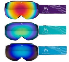 Brand new 2015 Summit Evolve magnetic frameless snow goggles  Being launched at the ski and snowboard show at Earls Court, London  www.summitworldwide.eu