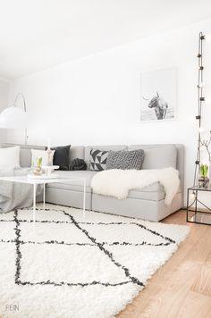 Scandi Stil Wohnzimmer