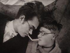 Gerhard Kadow and Else Franke, Bauhaus Dessau 1929a