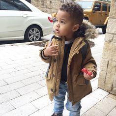 Kid winter fashion @