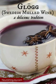 Glogg, the Swedish mulled wine done right :)