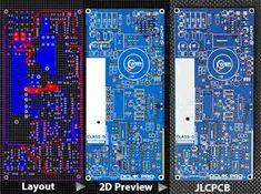 Power Amplifier Class-D D1K CLOCKED Class D Amplifier, Electronic Circuit, Clock, Layout, Electronics, Kit, Watch, Page Layout, Clocks