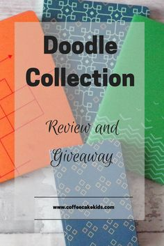Enter for our chance to win a set of notebooks from Doodle Collection