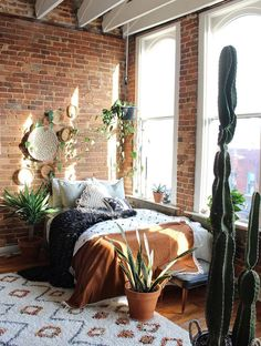 33 Beautiful Bohemian Bedroom Decor to Inspire You - Best Rugs - Ideas of Best Rugs - Bohemian Bedroom Decor Ideas Figure out how to understand bohemian area decoration with these 33 bohemia-style rooms from eclectic bedrooms to relaxed living areas. Dream Bedroom, Home Bedroom, Loft Style Bedroom, Nature Bedroom, Royal Bedroom, Bedroom Rugs, Childs Bedroom, Bedroom Curtains, Bedroom Wardrobe
