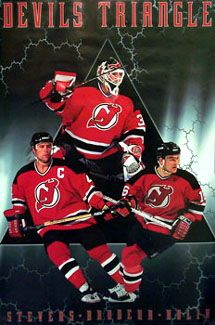 New Jersey Devils Devils Triangle - Costacos 1998