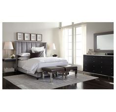Regis Leather Bed Mitchell Gold Bob Williams Decor Beds Pinterest Mitchell Gold