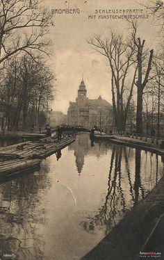 Śluza III, Bydgoszcz - 1917 rok, stare zdjęcia
