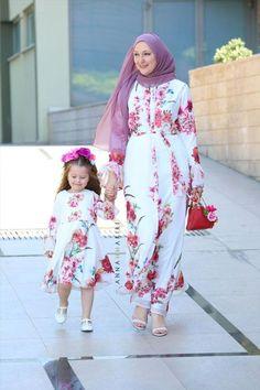 Little Ontario dress Modern Hijab Fashion, Islamic Fashion, Abaya Fashion, Muslim Fashion, Latest African Fashion Dresses, Women's Fashion Dresses, Girl Fashion, Modest Outfits Muslim, Modest Dresses