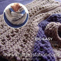 Knitting Pattern Circular Needles, Garter Stitch, Needles Sizes, Free Pattern, Knitting Patterns, Crochet Hats, Big, Easy, Ponchos