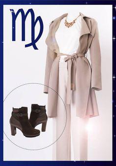 Jungfrau-Damen lieben cleane Styles und kombinieren gerne edle Teile in hellen Tönen wie Puder oder Sand. #ModeGarhammer #Fashionhoroskop