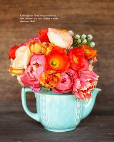 Chá com decoração. Confira: http://casadevalentina.com.br/blog/detalhes/cha-com-decoracao-3209 #decor #decoracao #interior #design #casa #home #house #idea #ideia #detalhes #details #style #estilo #casadevalentina