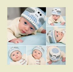 #knitaboo #knitted hats #baby photography