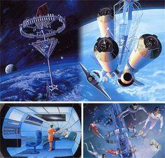 未来8大宇宙创意工程 吓死70亿地球人据国外媒体报道,我们是否已处于一个新建筑时代的边缘?随着商业太空游的大门即将打开,我们能否在有生之年等来太空殖民地出现的那一天?随着地球资源日趋匮乏,我们是否在不久后就要被迫迁入这颗星球上此前并不适于居住的区域? 日本建筑集团——清水建设株式会社似乎已经将目光聚焦这些问题,并提出了一�