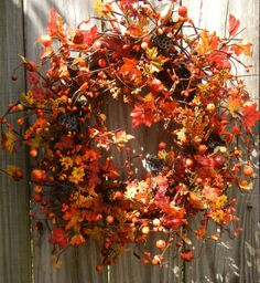 Fall Wreath diy idea