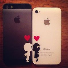 matching i phones me and my friend should get this.