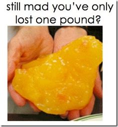 a pound lost is a FANTASTIC thing to be proud of!!